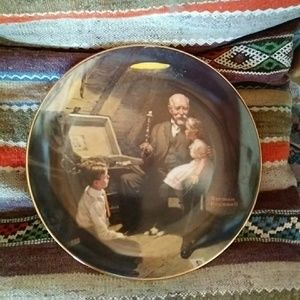 Other - Rockwell Fine China Plate